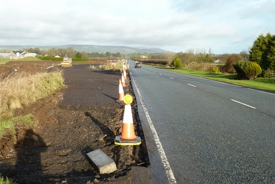 Glen view road layby